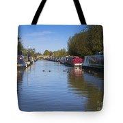 Narrowboats Tote Bag