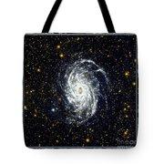 Nasa Big Brother To The Milky Way Tote Bag