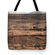 Nasa Mars Panorama From The Mars Rover Tote Bag