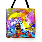 Nasdaq Who What When Where And Why Tote Bag