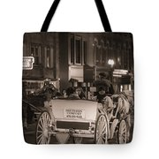 Nashville Carriage Ride Tote Bag