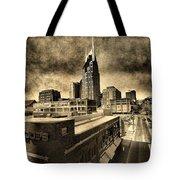 Nashville Grunge Tote Bag