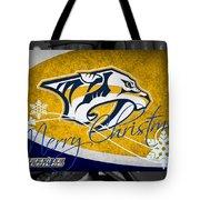 Nashville Predators Christmas Tote Bag