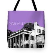 Nashville Skyline Belle Meade Plantation - Violet Tote Bag