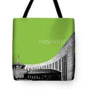 Nashville Skyline Country Music Hall Of Fame - Olive Tote Bag