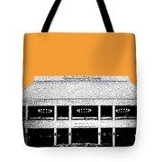 Nashville Skyline Grand Ole Opry - Orange Tote Bag