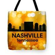 Nashville Tn 3 Tote Bag