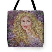 Natalie In Lilacs Tote Bag