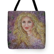 Natalie In Lilacs Tote Bag