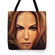Natalie Portman Tote Bag by Paul Meijering