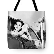Natalie Wood At A Drive-in Tote Bag