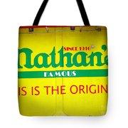 Nathan's Famous Tote Bag
