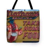 Nathan's Famous Tote Bag