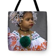 National Costume Of Panama Tote Bag