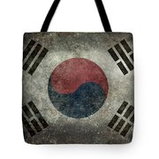 National Flag Of South Korea Desaturated Vintage Version Tote Bag