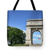 National Memorial Arch At Valley Forge Tote Bag