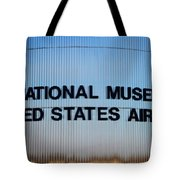 National Museum United States Air Force Tote Bag