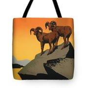 National Parks Preserve Wildlife Vintage Poster 1938 Tote Bag