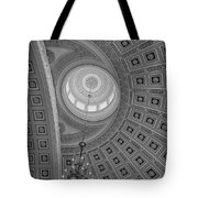 National Statuary Rotunda Bw Tote Bag