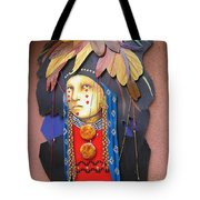 Native American Artwork Tote Bag