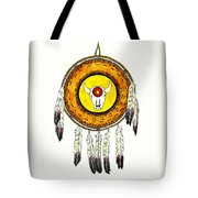 Native American Ceremonial Shield Number 2 Tote Bag