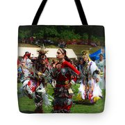 Native American Dancers Tote Bag