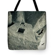 Native American Dwelling Tote Bag
