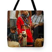 Native American Youth Dancer Tote Bag