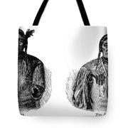 Native Americans: Sign Language Tote Bag