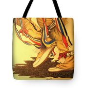 Native Dancer's Feet 1 Tote Bag