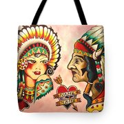 Native Flash Sheet Tote Bag