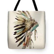 Native Headdress Tote Bag