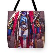 Native Hoop Dancer Tote Bag