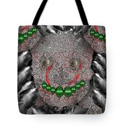 Native Indian Skull Art Tote Bag