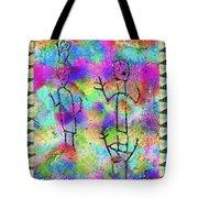 Native Legends II Tote Bag