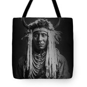 Native Man Circa 1900 Tote Bag
