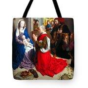 Nativity And Adoration Of The Magi Tote Bag