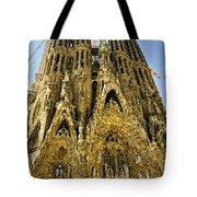 Nativity Facade - Sagrada Familia Tote Bag