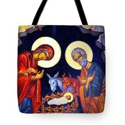 Nativity Feast Tote Bag