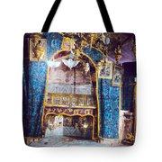 Nativity Grotto 1950 Tote Bag