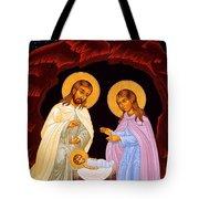Nativity Night Tote Bag
