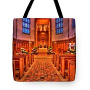 Nativity Of Our Lord Church Tote Bag