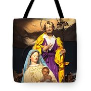 Christmas Nativity Scene Tote Bag