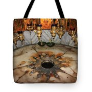 Nativity Star Tote Bag