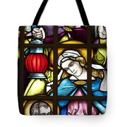 Nativity Window Tote Bag