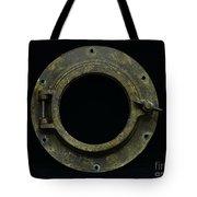 Natuical - Brass Porthole Tote Bag