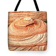 Natural Abstract Canyon De Chelly Tote Bag