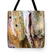 Natural Abstract Crepe Mertle Tote Bag