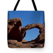 Natural Arch Valley Of Fire State Park Nevada Tote Bag