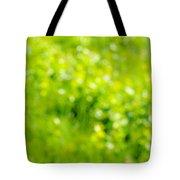 Natural Bokeh Tote Bag